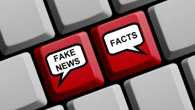 Notícies falses que van enganyar els mitjans
