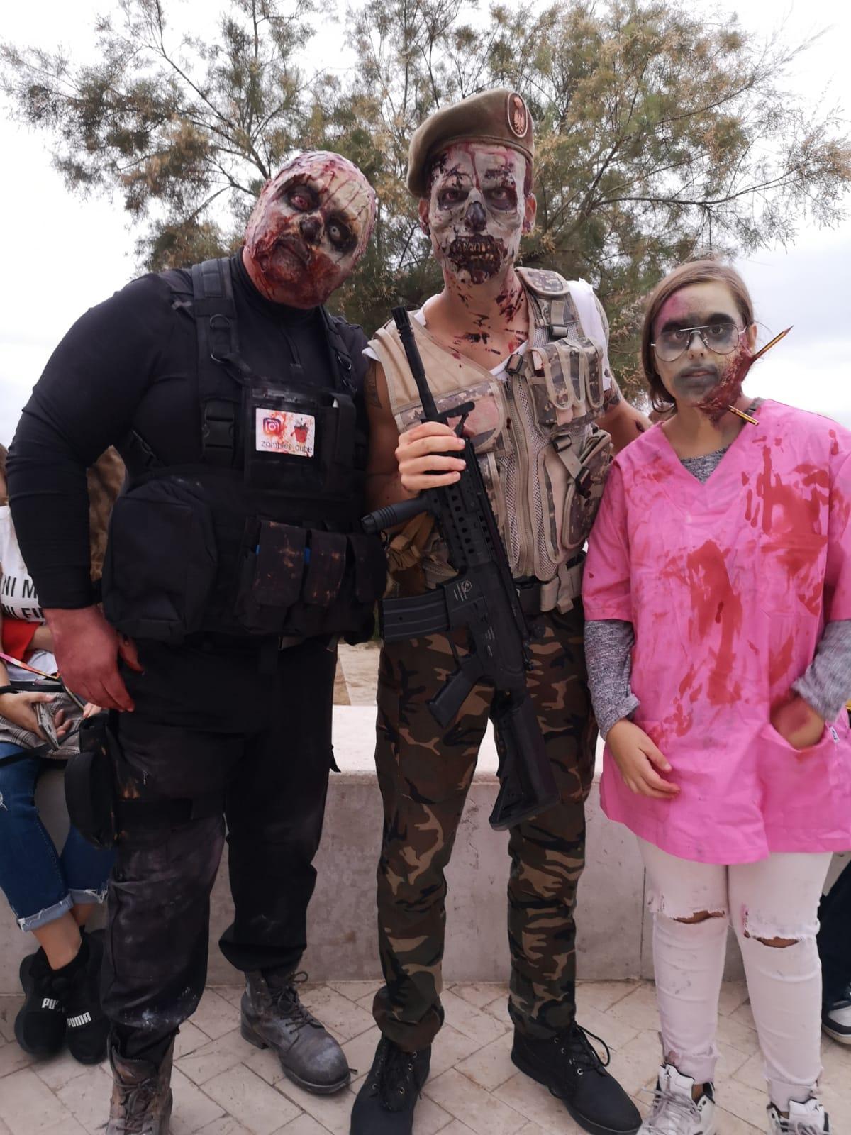 Es celebra la nova edició de 'Zombie Walk Sitges'