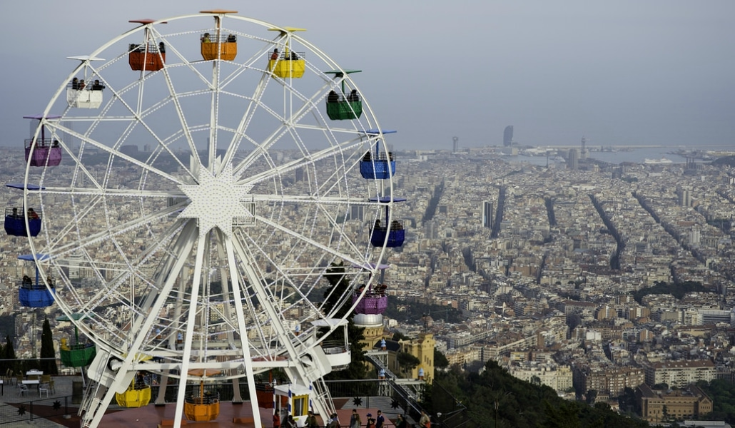 "What is the meaning of the word ""Tibidabo""?"