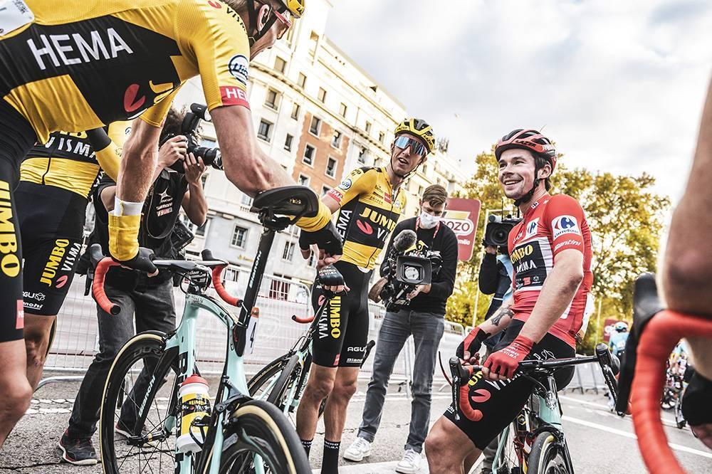 Imatges de la Vuelta 2020